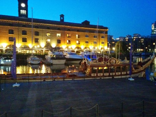 The Queen's barge?