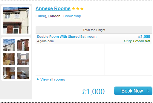 Annexe Rooms Hotel London