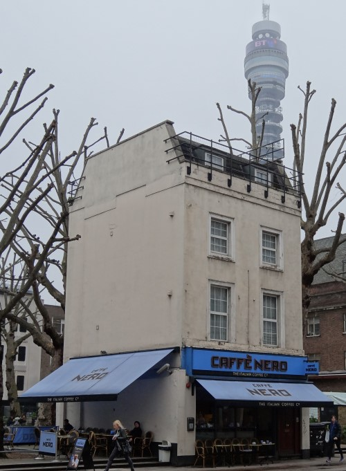 Caffe Nero and BT Tower