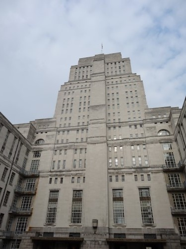 Senate House, one of London's most famous Art Deco buildings