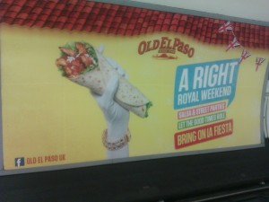 Old El Paso Jubilee Tube Ad
