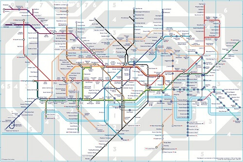 LondonTubeMap2012