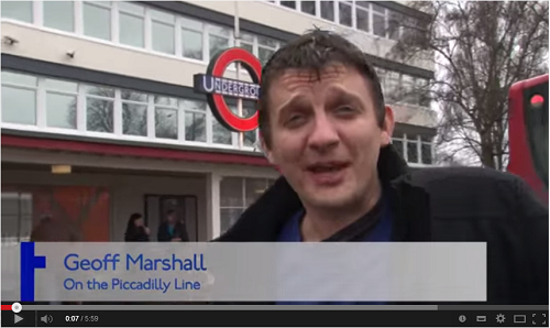 Secrets of the Piccadilly Line By Geoff Marshall