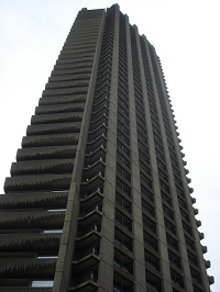 Shakespeare Tower In The Barbican