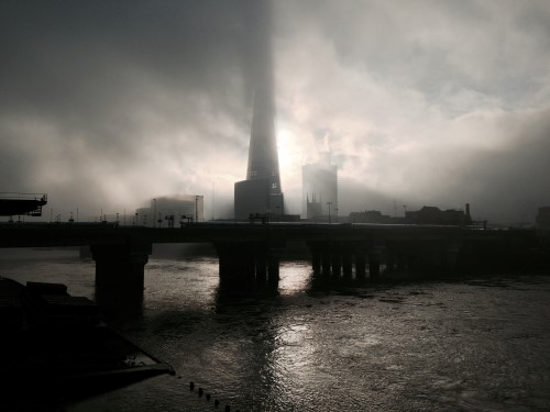 This Picture of The Shard Looks Like It Could Have Been Taken In the 19th Century