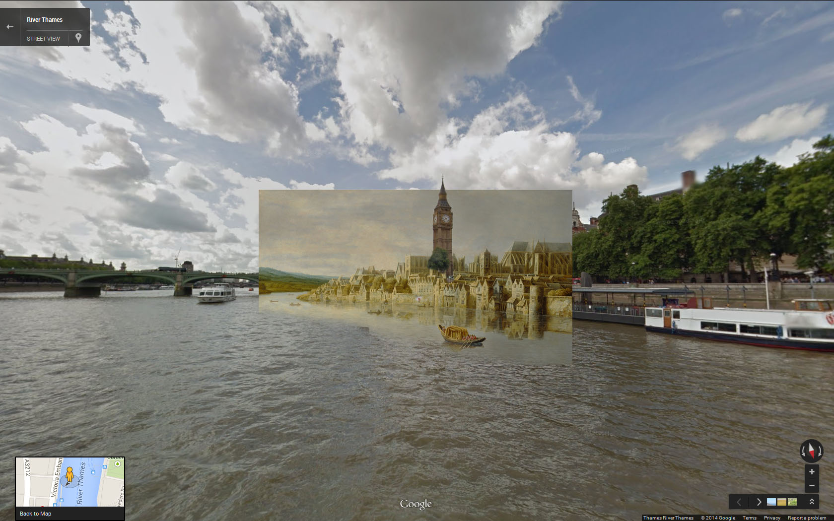 15 More Stunning Paintings Of Old London Compared To Modern Location