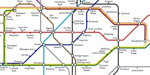 Tube Stations Renamed - Plausible Alternatives For All 270