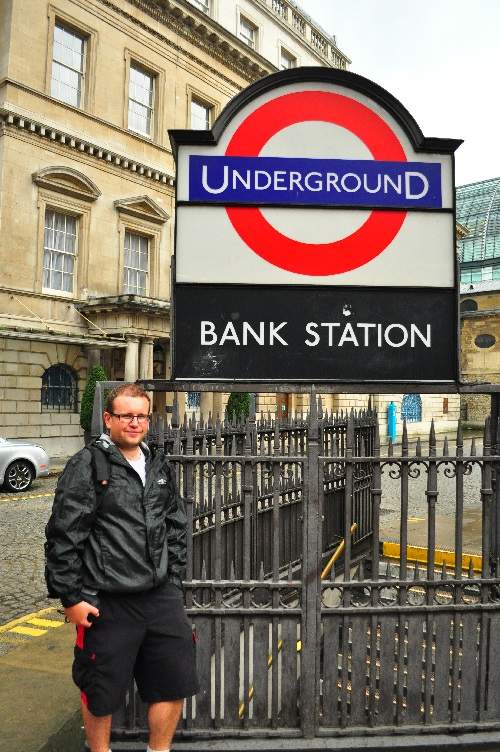 Done! I'm Now The First Canadian To Have Walked The Entire London Underground