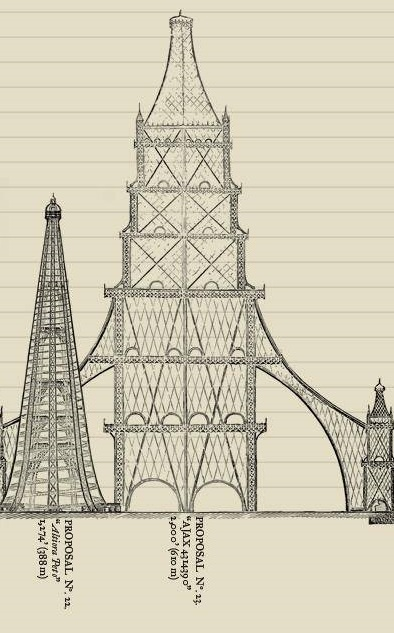Great Tower For London Design No.22 and 23