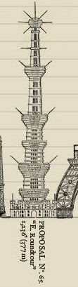 Great Tower For London Design No.65