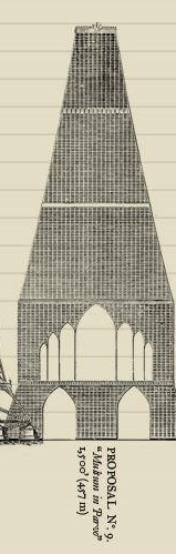 Great Tower For London Design No.9