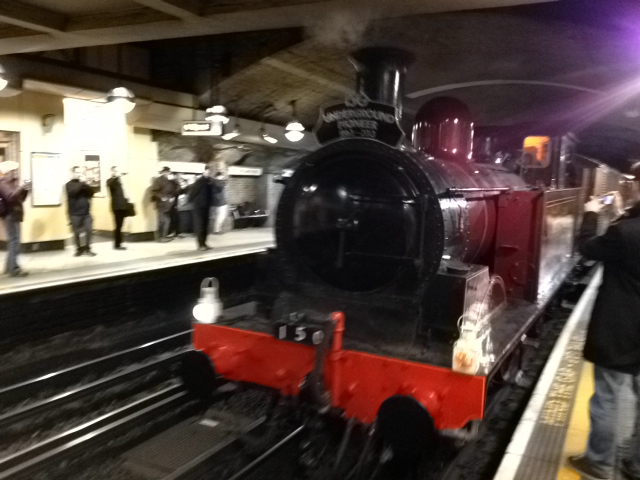 Steam Train at Baker Street