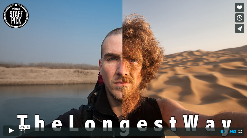 How Big A Beard Do You Grow Walking Over 4,500km in China?