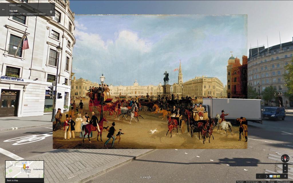 Trafalgar Square (1837ish) James Pollard