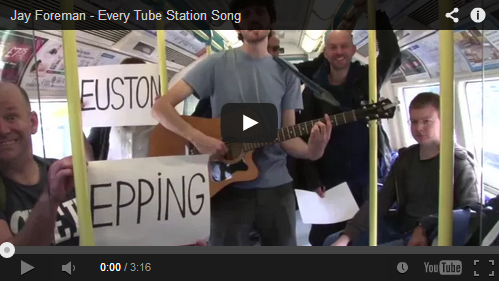 Every Tube Station Song By Jay Foreman