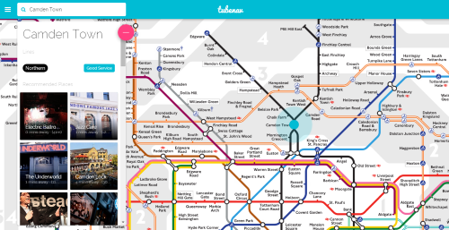 Interactive Tube Map Tubenav: The First Fully Interactive Tube Map   Randomly London