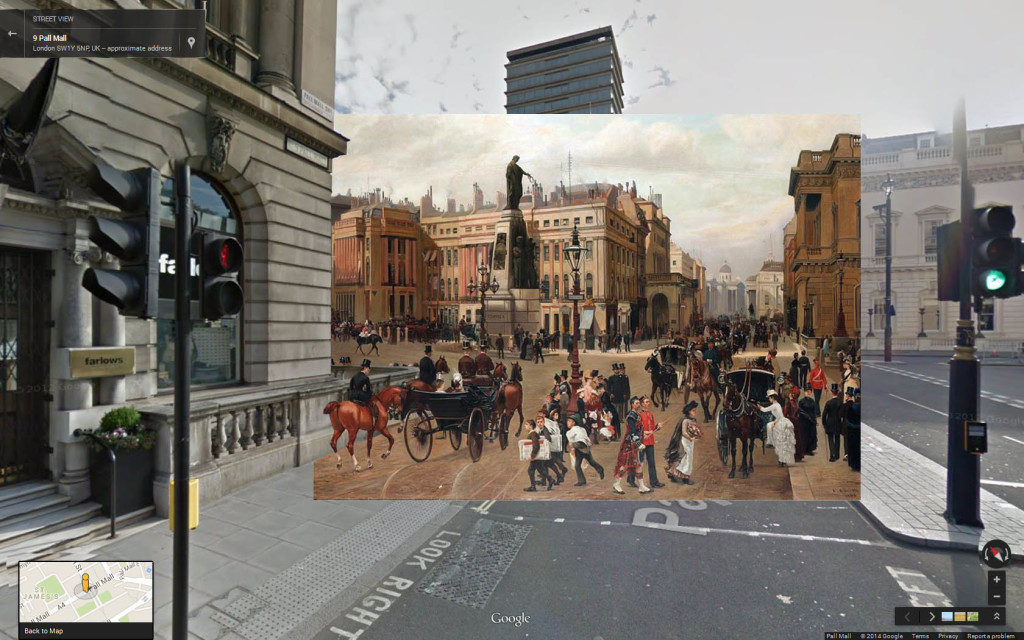 Waterloo Place (1886) Filippo Baratti